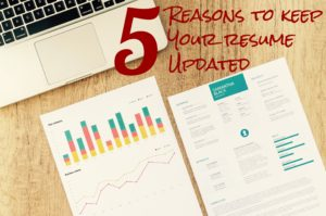 5 Reasons To Keep Your Resume Updated Need A New Gig